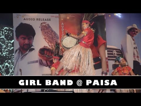 Paisa Audio Launch  Siddhartha College Girls Performence