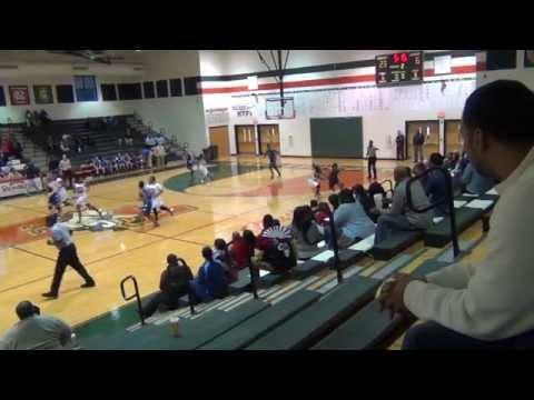 Tycara Allen #32 Mallard Creek High School Basketball