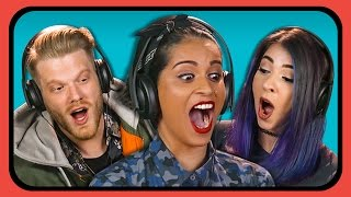 YOUTUBERS REACT TO BREAD FACE GIRL