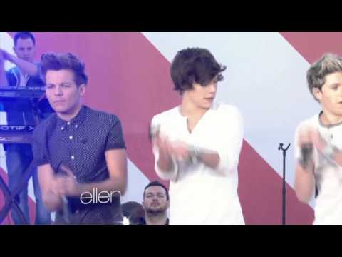 One Direction Performs - Live While We're Young
