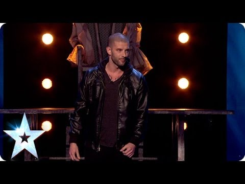 Magician Darcy Oake Does The Ultimate Disapearing Act | Britain's Got Talent 2014 video