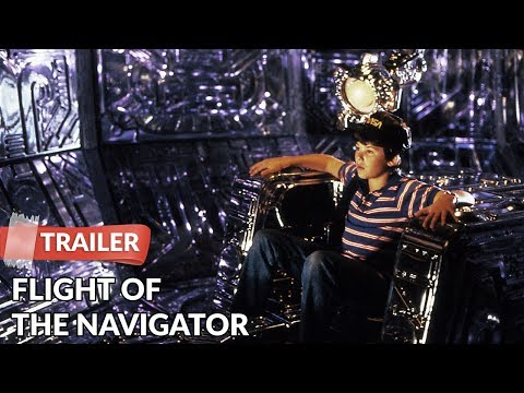 Flight Of The Navigator 1986 Trailer | Paul Reubens
