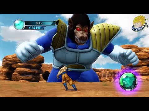 Dragon Ball Z Ultimate Tenkaichi - Story Mode Goku Vs Great Ape Vegeta | (Part 8) �HD�