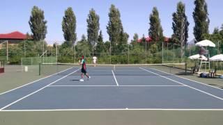 Tenis Finalja Tirana Open 2013 Part one