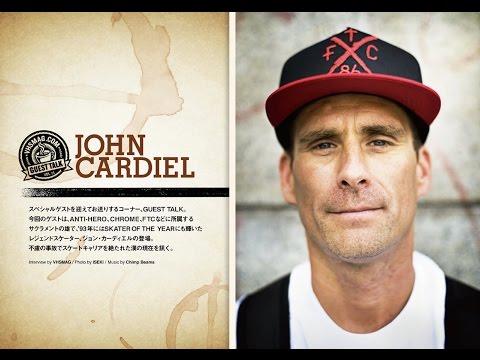 [GUEST TALK] JOHN CARDIEL