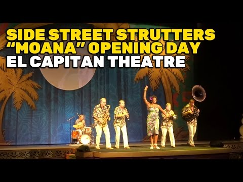 "Side Street Strutters Tribute To ""Moana"" Directors Ron Clements & John Musker At El Capitan Theatre"