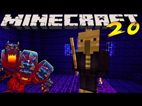 Minecraft Mods - MONSTERCRAFT - Ep # 20 'NIGHTMARE ARMOUR'