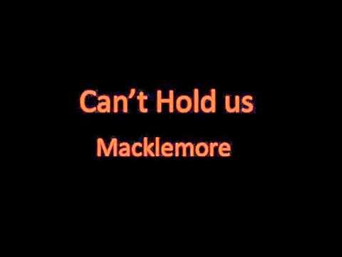 Can't Hold Us - Macklemore(lyrics)