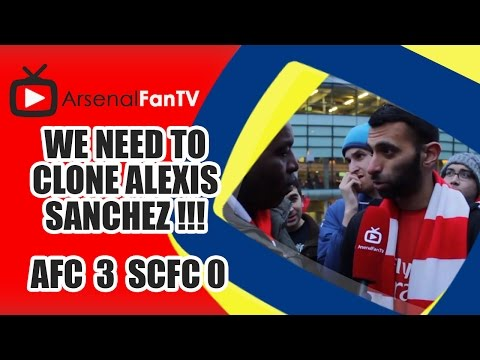 We Need To Clone Alexis Sanchez !!! - Arsenal 3 Stoke City 0