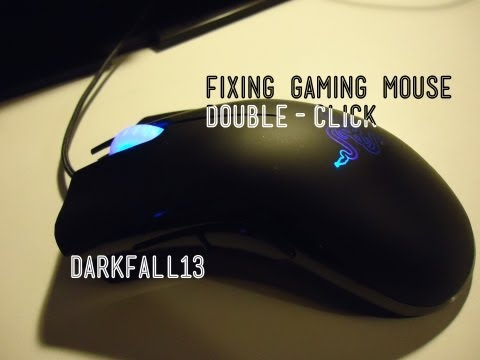 Fixing Double Click Issue on a Gaming Mouse