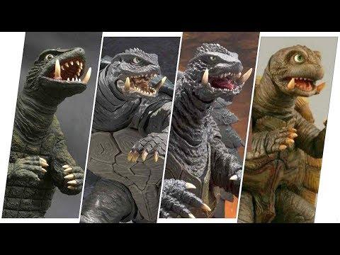 Gamera Evolution in Movies.