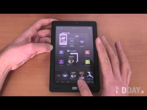 In prova: tablet Kobo Arc
