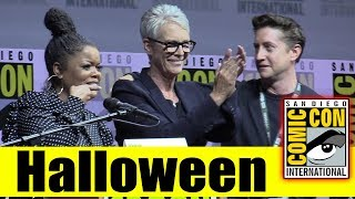 HALLOWEEN | Comic Con 2018 Full Panel (Jamie Lee Curtis, David Gordon Green)