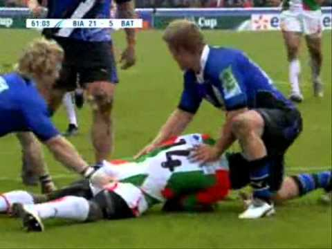 - Heineken Cup 2010/11- Round 6- Biarritz vs Bath - Biarritz vs Bath Highlights Heineken Cup Rd.6