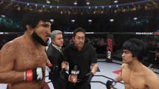 Armen Nurmagoliev vs. Bruce Lee (EA sports UFC 3) - CPU vs. CPU