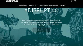 "Trump's DOJ Demands Personal Info On 1.3M Visitors to ""DisruptJ20"" Inauguration Protest Website"