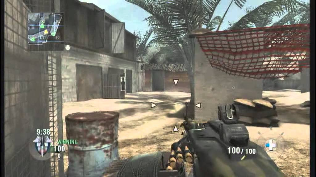 Ballistics Knife Black Ops Wii Call of Duty Black Ops Wii