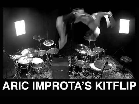 Watch a Drummer Do a Backflip Mid Solo news