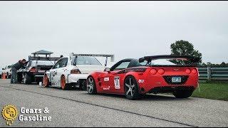 Evo vs Corvette ZR1- #GRIDLIFE Trackbattle Round 5