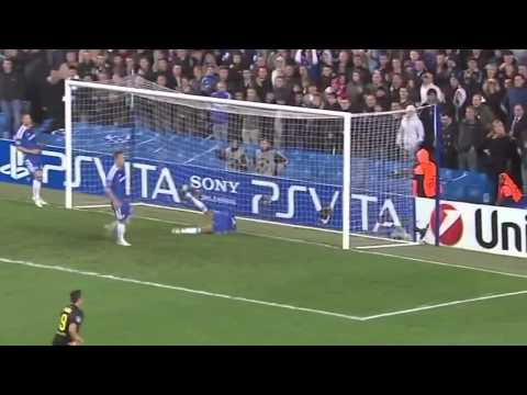 Chelsea F.c. 1-0 Barcelona F.c. Highlights 18 04 2012 video