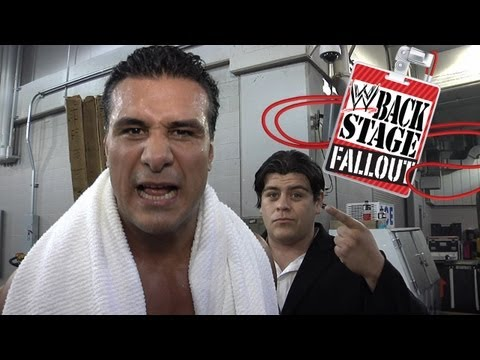 Backstage Fallout - One by one, they're going down - SmackDown - July 27, 2012