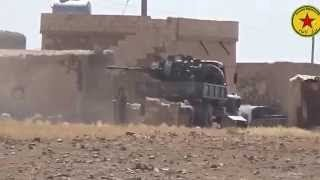 Latest News Today 14 August 2015 - YPG and YPJ attack ISIS  in Serekaniye