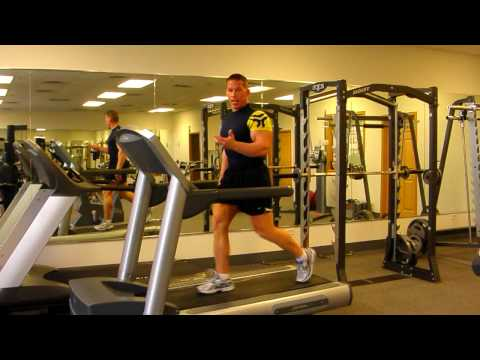 Advanced Interval Cardio on Treadmill;  AKA  Sprints