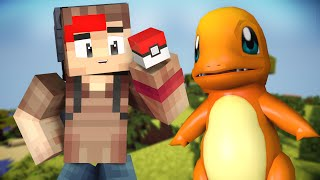 Pokemon GO - CHARMANDER, I CHOOSE YOU !! (Minecraft Pokemon GO Roleplay) #1