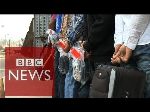 Broken lives of immigrants deported from US to Mexico - BBC News