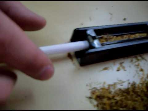 Nabijanie gilz tytoniem