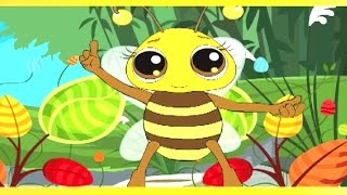 Nil Digante Oi Phooler - Rabindra Sangeet – Bengali Animation – Kids Song
