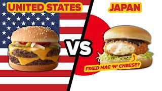 American Vs. Japanese McDonalds