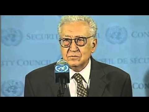 Syria: SC President, Peter Wittig (Germany) and Lakhdar Brahimi - September 24, 2012