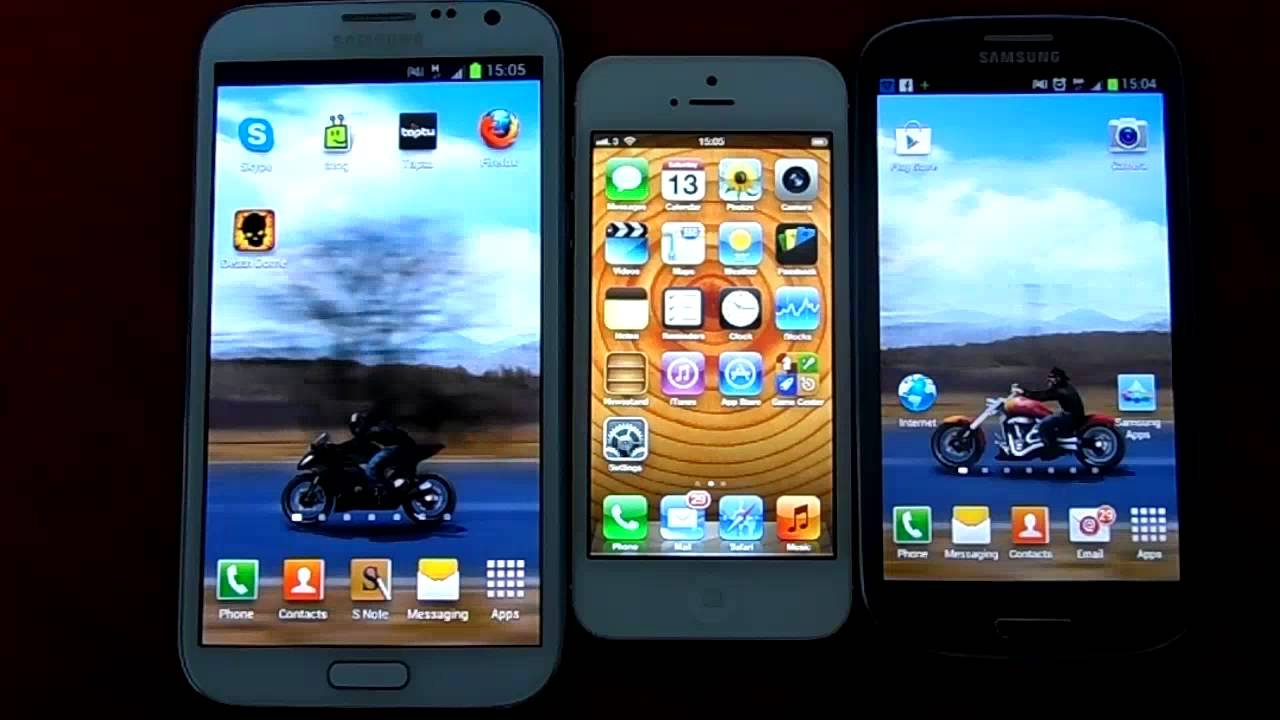 Samsung Galaxy Note 2 vs Samsung Galaxy s3 Samsung Galaxy Note 2 vs