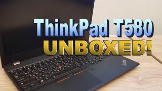 ThinkPad T580 UNBOXED! (4K)