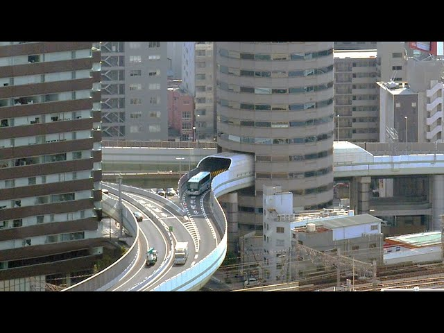 Highway through a Building Story - ONLY in JAPAN