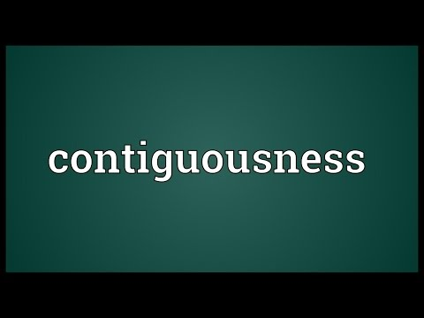 Header of contiguousness