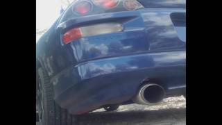 3G ECLIPSE 4G64 CATLESS EXHAUST MAGNAFLOW GLASSPACK