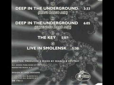 Search & Destroy - Deep in the underground - Mokum Records