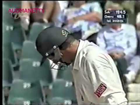 Jason Gillespie ball by ball vs South Africa 1997