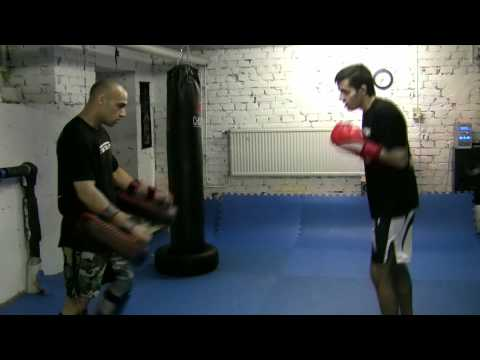 Sanshou kickboxing workout 4 Image 1