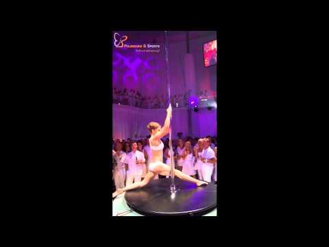 Performance Weisses Fest Poledance & Sports Anna Stadler Plus City Linz 2012