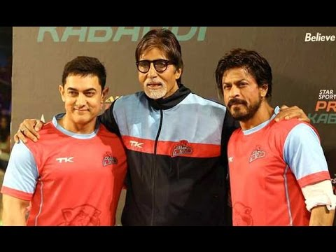 Star Sports Pro Kabaddi League│Shahrukh Khan, Aamir Khan, Amitabh Bachchan Photo Image Pic