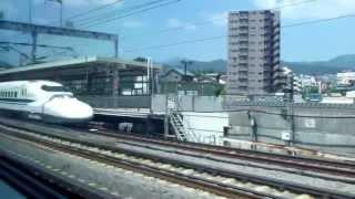 【HD】View from the Shinkansen 【新幹線車窓】 (Tokyo~Nagoya)