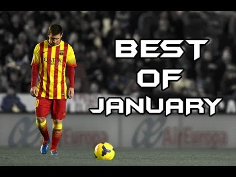 Lionel Messi - Best Of January | Goals, Skills & Passes - 2013 2014 | Hd video
