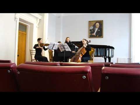 Лятошинский, Борис - Фортепианное трио №1