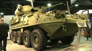 General Dynamics Land Systems demonstrates its MUTT UGV at AUSA 2014