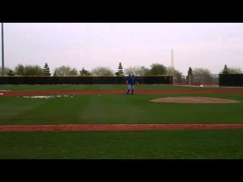 Texas Rangers Infield Fielding Ground Balls