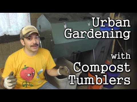 Jora 70: Hot Compost Tumbler Review -After 2 Years in My Urban Garden