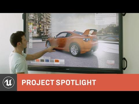 Toyota Motor Corporation Australia, Rotor Studios and Unreal Engine 4